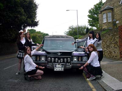 Girls leavers day in Ramsgate